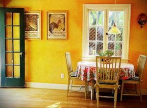фото пример желтого цвета в интерьере 09.10.2019 №003 -yellow in interior- design-foto.ru