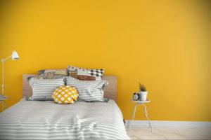фото пример желтого цвета в интерьере 09.10.2019 №015 -yellow in interior- design-foto.ru
