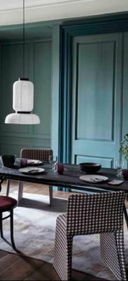 фото пример зеленого в интерьере 06.10.2019 №001 -green in the interior- design-foto.ru