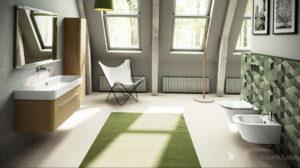 фото пример зеленого в интерьере 06.10.2019 №006 -green in the interior- design-foto.ru