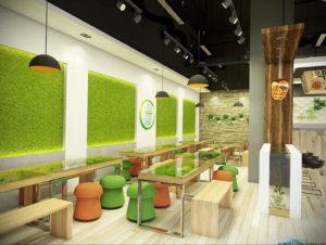 фото пример зеленого в интерьере 06.10.2019 №008 -green in the interior- design-foto.ru