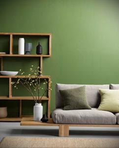 фото пример зеленого в интерьере 06.10.2019 №009 -green in the interior- design-foto.ru