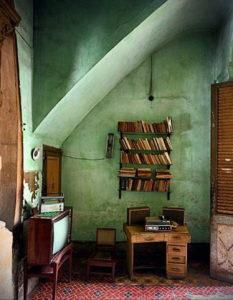 фото пример зеленого в интерьере 06.10.2019 №010 -green in the interior- design-foto.ru
