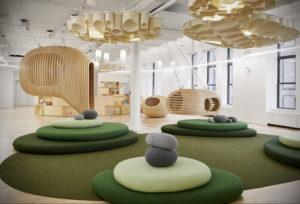 фото пример зеленого в интерьере 06.10.2019 №012 -green in the interior- design-foto.ru