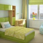 фото пример зеленого в интерьере 06.10.2019 №023 -green in the interior- design-foto.ru