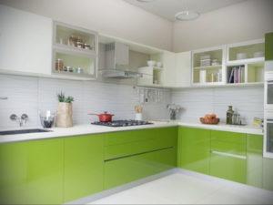 фото пример зеленого в интерьере 06.10.2019 №026 -green in the interior- design-foto.ru