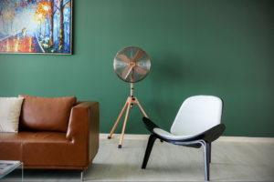 фото пример зеленого в интерьере 06.10.2019 №032 -green in the interior- design-foto.ru