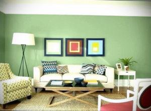 фото пример зеленого в интерьере 06.10.2019 №033 -green in the interior- design-foto.ru