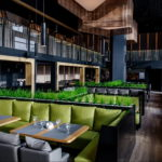 фото пример зеленого в интерьере 06.10.2019 №034 -green in the interior- design-foto.ru