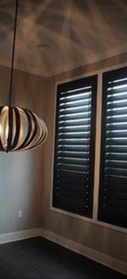 черные жалюзи в интерьере 19.09.2019 №012 — black blinds in the interior — design-foto.ru