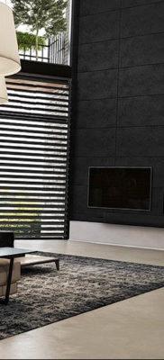 черные жалюзи в интерьере 19.09.2019 №017 — black blinds in the interior — design-foto.ru