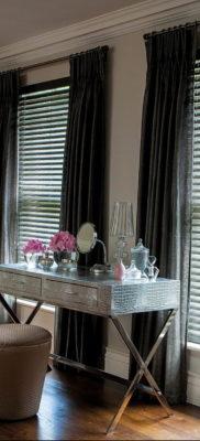 черные жалюзи в интерьере 19.09.2019 №018 — black blinds in the interior — design-foto.ru