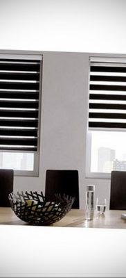 черные жалюзи в интерьере 19.09.2019 №020 — black blinds in the interior — design-foto.ru