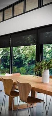 черные жалюзи в интерьере 19.09.2019 №021 — black blinds in the interior — design-foto.ru