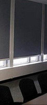 черные жалюзи в интерьере 19.09.2019 №027 — black blinds in the interior — design-foto.ru