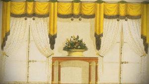 шторы желтого цвета в интерьере 09.10.2019 №018 -yellow in interior- design-foto.ru