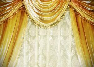 шторы желтого цвета в интерьере 09.10.2019 №021 -yellow in interior- design-foto.ru