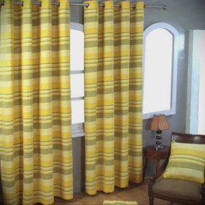 шторы желтого цвета в интерьере 09.10.2019 №027 -yellow in interior- design-foto.ru
