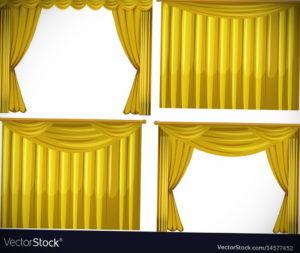шторы желтого цвета в интерьере 09.10.2019 №028 -yellow in interior- design-foto.ru