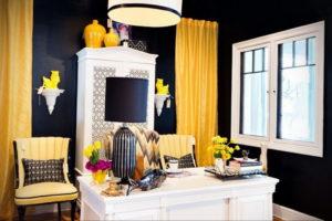 шторы желтого цвета в интерьере 09.10.2019 №033 -yellow in interior- design-foto.ru