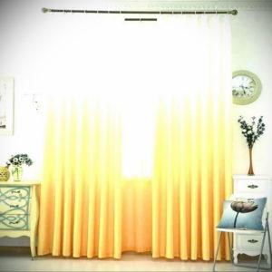 шторы желтого цвета в интерьере 09.10.2019 №040 -yellow in interior- design-foto.ru
