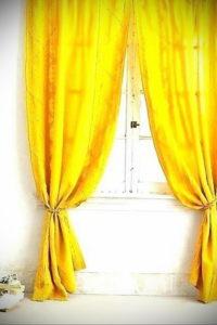 шторы желтого цвета в интерьере 09.10.2019 №049 -yellow in interior- design-foto.ru