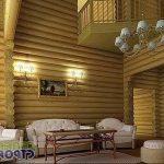 Фото Интерьер со вторым светом от 01.10.2018 №129 - Interior with a secon - design-foto.ru