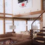 Фото Интерьер со вторым светом от 01.10.2018 №146 - Interior with a secon - design-foto.ru