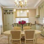 Фото Цветы в интерьере кухни от 26.09.2018 №006 - Flowers in the interior - design-foto.ru