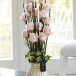 Фото Цветы в интерьере кухни от 26.09.2018 №011 - Flowers in the interior - design-foto.ru