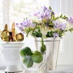Фото Цветы в интерьере кухни от 26.09.2018 №026 - Flowers in the interior - design-foto.ru