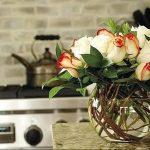 Фото Цветы в интерьере кухни от 26.09.2018 №028 - Flowers in the interior - design-foto.ru