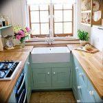 Фото Цветы в интерьере кухни от 26.09.2018 №043 - Flowers in the interior - design-foto.ru