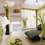 Фото Цветы в интерьере кухни от 26.09.2018 №046 - Flowers in the interior - design-foto.ru