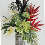 Фото Цветы в интерьере кухни от 26.09.2018 №047 - Flowers in the interior - design-foto.ru