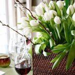Фото Цветы в интерьере кухни от 26.09.2018 №073 - Flowers in the interior - design-foto.ru
