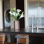 Фото Цветы в интерьере кухни от 26.09.2018 №077 - Flowers in the interior - design-foto.ru