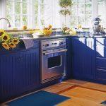 Фото Цветы в интерьере кухни от 26.09.2018 №082 - Flowers in the interior - design-foto.ru