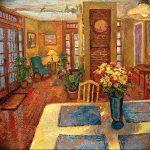 Фото Цветы в интерьере кухни от 26.09.2018 №092 - Flowers in the interior - design-foto.ru