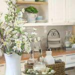 Фото Цветы в интерьере кухни от 26.09.2018 №097 - Flowers in the interior - design-foto.ru