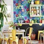 Фото Цветы в интерьере кухни от 26.09.2018 №108 - Flowers in the interior - design-foto.ru