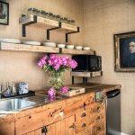 Фото Цветы в интерьере кухни от 26.09.2018 №110 - Flowers in the interior - design-foto.ru