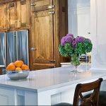 Фото Цветы в интерьере кухни от 26.09.2018 №115 - Flowers in the interior - design-foto.ru