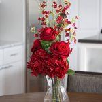 Фото Цветы в интерьере кухни от 26.09.2018 №117 - Flowers in the interior - design-foto.ru