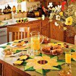 Фото Цветы в интерьере кухни от 26.09.2018 №123 - Flowers in the interior - design-foto.ru