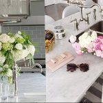 Фото Цветы в интерьере кухни от 26.09.2018 №136 - Flowers in the interior - design-foto.ru