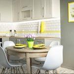 Фото Цветы в интерьере кухни от 26.09.2018 №143 - Flowers in the interior - design-foto.ru