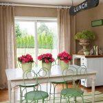 Фото Цветы в интерьере кухни от 26.09.2018 №174 - Flowers in the interior - design-foto.ru
