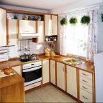 Фото Цветы в интерьере кухни от 26.09.2018 №178 - Flowers in the interior - design-foto.ru