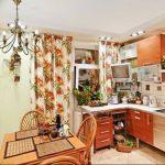 Фото Цветы в интерьере кухни от 26.09.2018 №188 - Flowers in the interior - design-foto.ru
